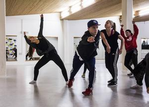 Koreografin är en viktig del i dansshowen, därför har Hannes Lemberg och Emilia Lindestam varit extra noggranna med den.