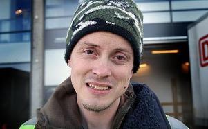 Tobias Bustad, 33 år, Sifferbo: – Den här gången har jag haft flyt och klarat mig helt och hållet.