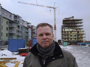 Ogillar regeringens intention. Lars Eriksson vill inte se marknadshyror på bostadsrätter.