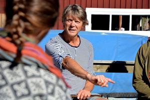 Steinar Ofsdal är en av flera ledare under pipkurserna den här veckan.