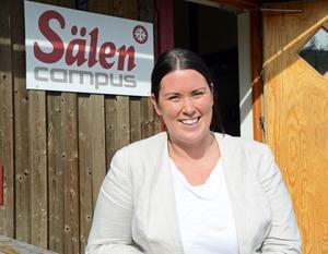 Camilla Sundqvist är personalansvarig på Skistar och oprojektledare för Campus Sälen.