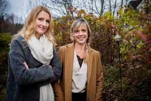 Vännerna och företagarna Eva-Lena Rylander och Jannice Thelander har planer att ta fram fler produkter under namnet Tistel.