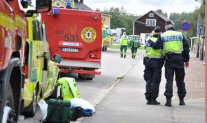 Den tragiska olyckan skapade förstämning i Lillhärdal. Trots att sjukvårdskunnig personal var på plats direkt efter olyckstillbudet gick inte flickans liv att rädda.