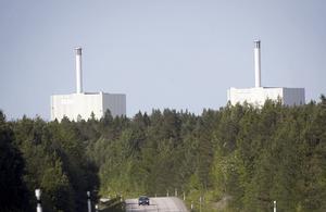 Forsmarks kärnkraftverk: Bild: Fredrik Sandberg/TT.