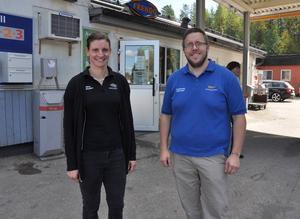 Sara Andersson och Kristian Trygg flyttar till Ytterhogdal för att överta Frendobutiken.
