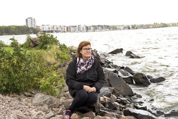 Anita Blom säger att hon har accepterat att det kommer att tar tid att bli frisk.