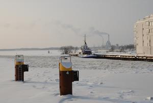 Bilden är tagen 31 jan 2010 i hamnen Västerås. Det måste ha varit mycket länge sedan vi hade en sådan hård och lång vinter i Västerås.
