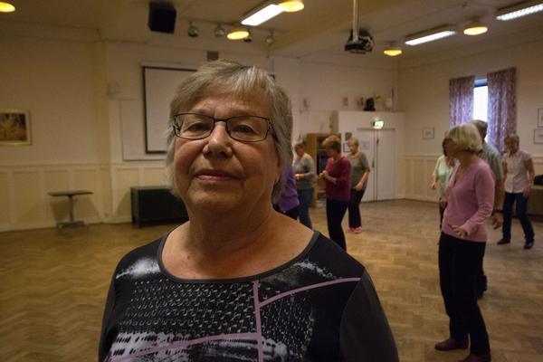 Greta Tuominen har dansat line-dance 2004, sedan dess har det rullat på.