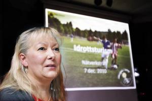 Christina Andersson, ordförande för Hofors Kanotklubb, ser fram emot sommarens kanot-SM i Hofors.