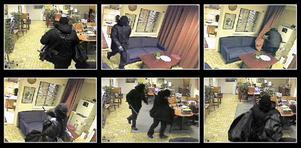 Med hjälp av AK4:a och kofot rånades banken.