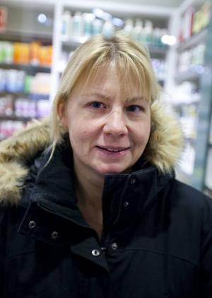 Jenny Eriksson, 36 år, butiksbiträde, Gävle: – Nej nu är man ju klar med allt och julen är över.