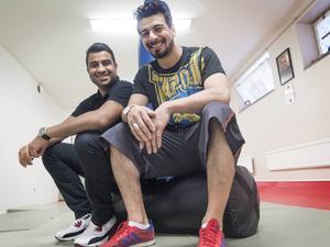 Momo Moradi och Raad Al-Duhan ska öppna ett center som stödjer integration.