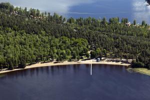 Planerna på turistsatsningar vid Hedåsbadet har bromsats upp av att det inte finns någon aktuell översiktsplan.