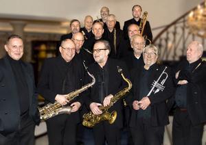 Bosse Heeds storband gästar jazzvännerna i Gävle.
