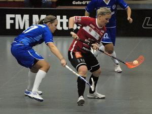 Ellen Tillman svarade för en mycket bra match mot Täby och fick äran att göra hattrick. Kais vann matchen med klara 11–6.