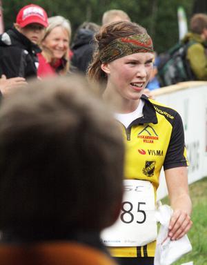 Snabbast av alla var Tove Alexandersson. Hon tror sig kunna prestera bra även på dagens sprint i Bollnäs.