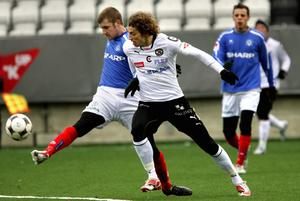 ÖSK mot Åtvidaberg. Bilden från träningsmatchen i mars 2008.
