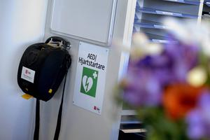Hjärtstartare räddar flera liv varje år.