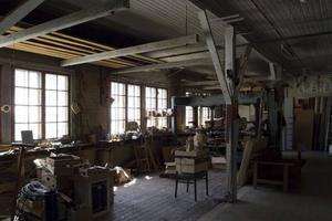 Grönbergs gamla möbelaffär i Jädraås ska bli en plats där samtidskonsten diskuteras.