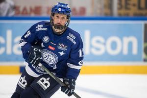 Hanna Lindqvist öppnade målskyttet för Leksand mot Modo, men sedan tog det stopp för Dala-laget.Bild: Daniel Eriksson.