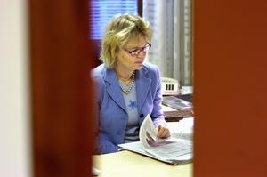 Ulla Olsson, moderat, är en av de borgerliga politiker som nu måste visa att alliansen har handlingskraft i Borlängepolitiken. Foto:MikaelHellsten