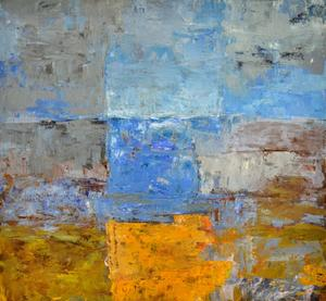 Impressionist. Bahman Sehatlou är impressionist. Han vill förmedla känslor med sina målningar.