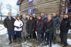 Lärare från sju länder träffades i Bruksvallarna i Jon Wagenius stuga för att planera.