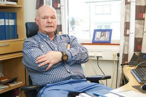 Håkan Andersson, polis i Sveg, är nybliven områdesansvarig för polisens arbete med vilt- och renolyckor i Härjedalen och Jämtland.