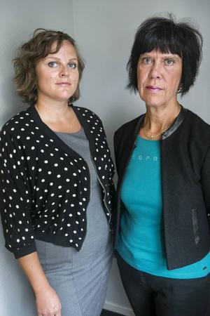 Eva Cooper och Lilian Sjölund