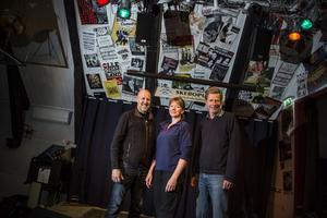 Bengt Lundberg, Eva Rytterlund och Rolf Hedin har haft en hektisk tid.