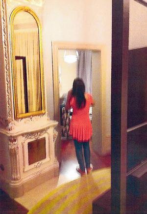 Ett av de hotell dit 37-åringen reste för att träffa flickvännen.