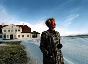 Vigdis Finnbogadottir. Islands kanske mest kända president av de fem som innehaft posten sedan republiken Island bildades 1944. Vigdis Finnbogadottir var president i 16 år. Bilden togs samma år som hon avgick, 1996.Arkivbild: Malin Lundberg/SCANPIX