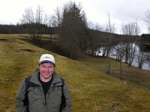 Bostadsplaner. I det här natursköna området i Tunsta till höger om Insjöbron planerar Rolf Tjäder och Borohus i Mockfjärd för både bostäder och rekreation.