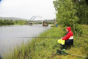 Barbro Andersson från Frövi kom på en andraplats i vuxentävlingen. Hennes fiskar vägde totalt 524 gram.
