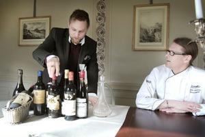 Robert Olssons kompetens och dessa viner passar Högbo hotell och maten som serveras som hand i handske, tycker Stefan Johansson, restaurangchef på Högbo Hotell.