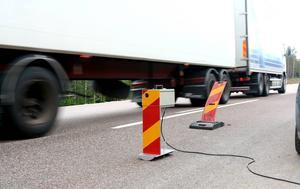 Den körkortslöse lastbilschauffören stoppades i Armsjön den sjunde oktober.