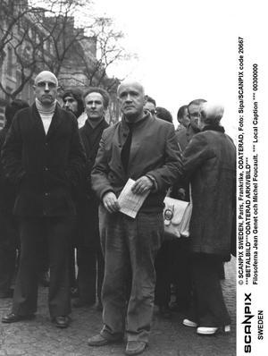 Polers? Michel Foucault med Jean Genet.