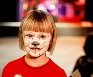 Snöleoparden Ellen Olnils, 7 år.