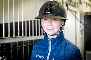 Hilda Denkert red Krafft The Tour of Amateurs med nioåriga hästen Neo.