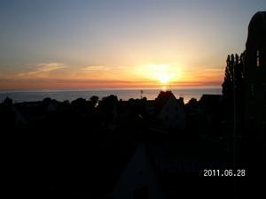 Var på Gotland och semestrade  v. 26 när jag fångade denna vackra solnedgång i hjärtat av Visby!
