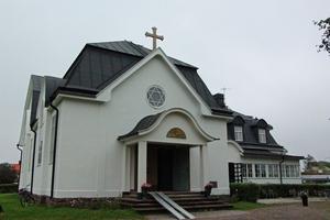 Byggmästare CA Eklund, Gävle ritade byggnaden och byggmästare Anders Nisser i Söderhamn byggde.