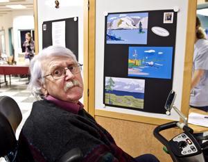 Rolf Storm har återupptagit både fotograferandet och diktandet efter stroken.
