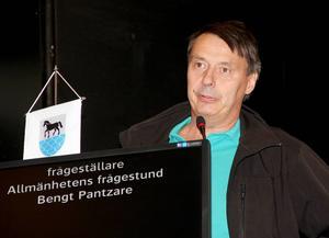 Utrivningen i Gnarpsån är ett presumtivt hot mot Gällsta IK bedömer Bengt Pantzare.