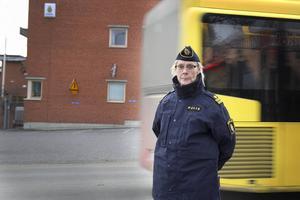 Helena Sundberg är kommunpolis i Bollnäs och Ovanåker. Hennes uppdrag är att driva det brottsförebyggande arbetet.
