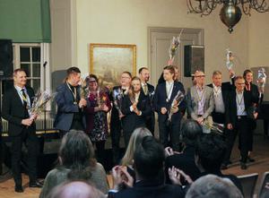 Alla nominerade i Guldyran på Strömsholms slott.
