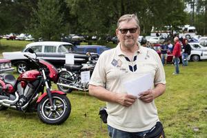 Arrangörer Mats Hägglund,