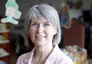 """Christina Käll, 48 år, lärare, Gävle.– """"Härlig är jorden"""", för att den är så välskriven."""