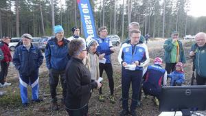 Det blev kö till starten när den populära Norrcupen i orientering avgjordes i Forsa i veckan.