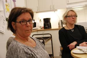 Tilltänkt projektledare i Ramsjö är Barbro Keijzer (till vänster) med stöd av bland andra Sigrid Petersén.