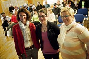 Karin Netsman, Ulrika Dahlberg och Anna Nyström är tre av dem som arbetar med en friskoleansökan.